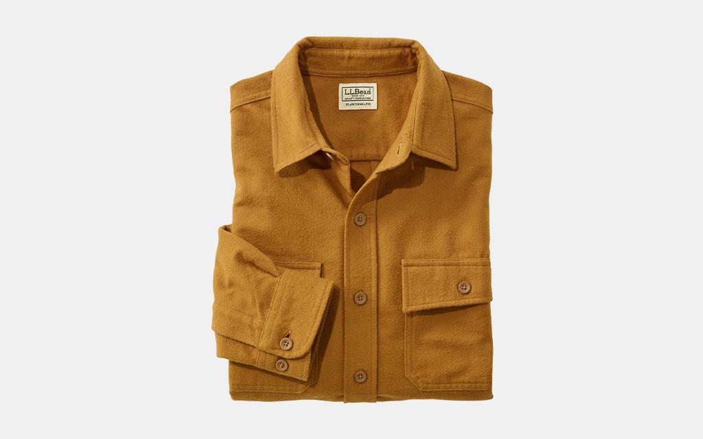 L.L.Bean Chamois Shirt, Traditional Fit