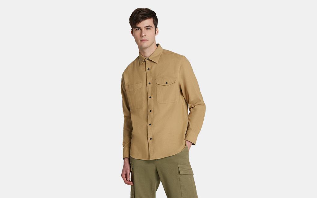 Woolrich Sportsman Chamois Shirt