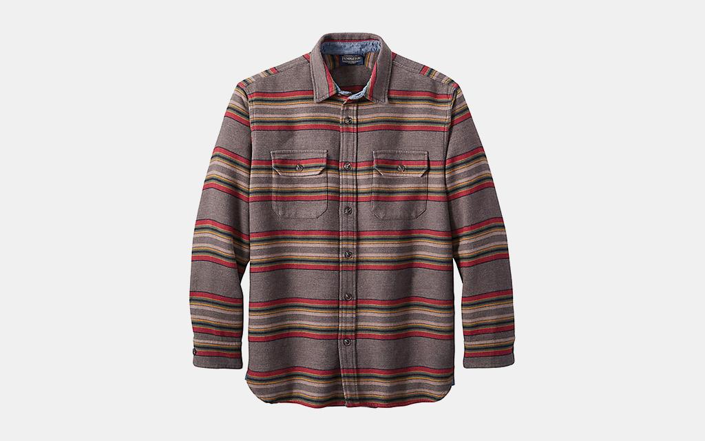 Pendleton Driftwood Chamois Shirt