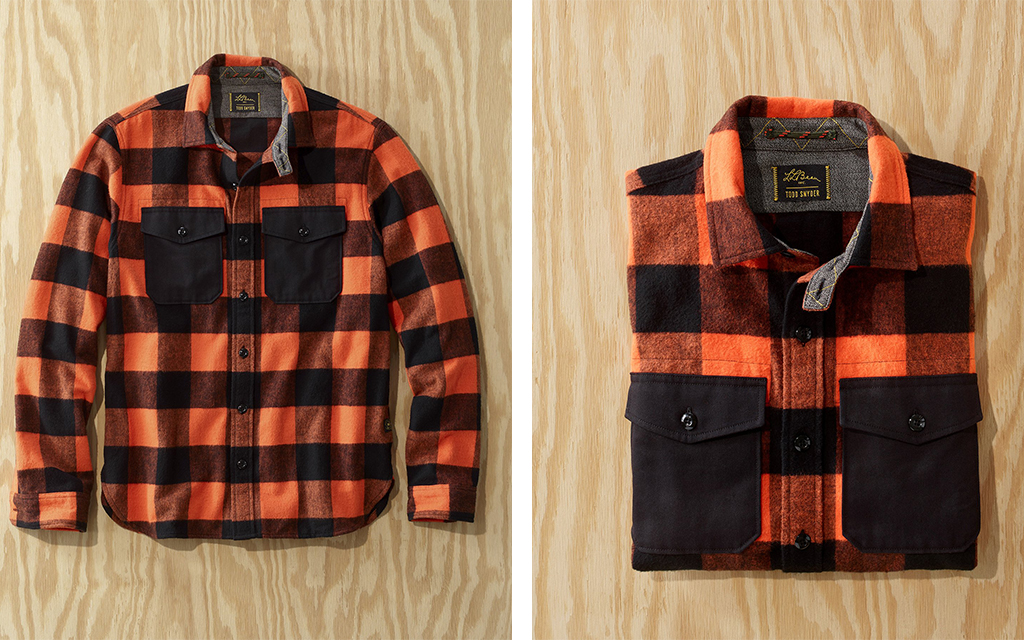 L.L.Bean x Todd Snyder Chamois Shirt with Trim