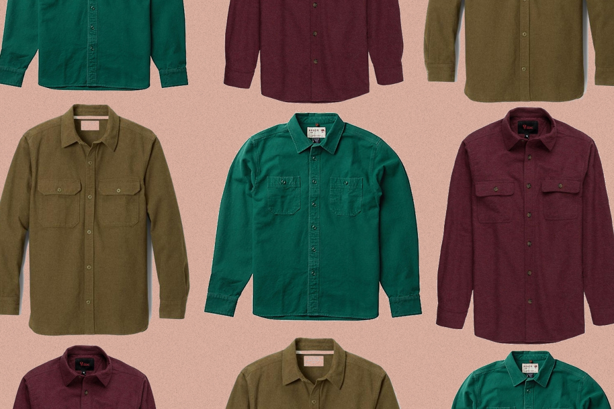 Trade Your Tired Flannels for a Chamois Shirt Instead