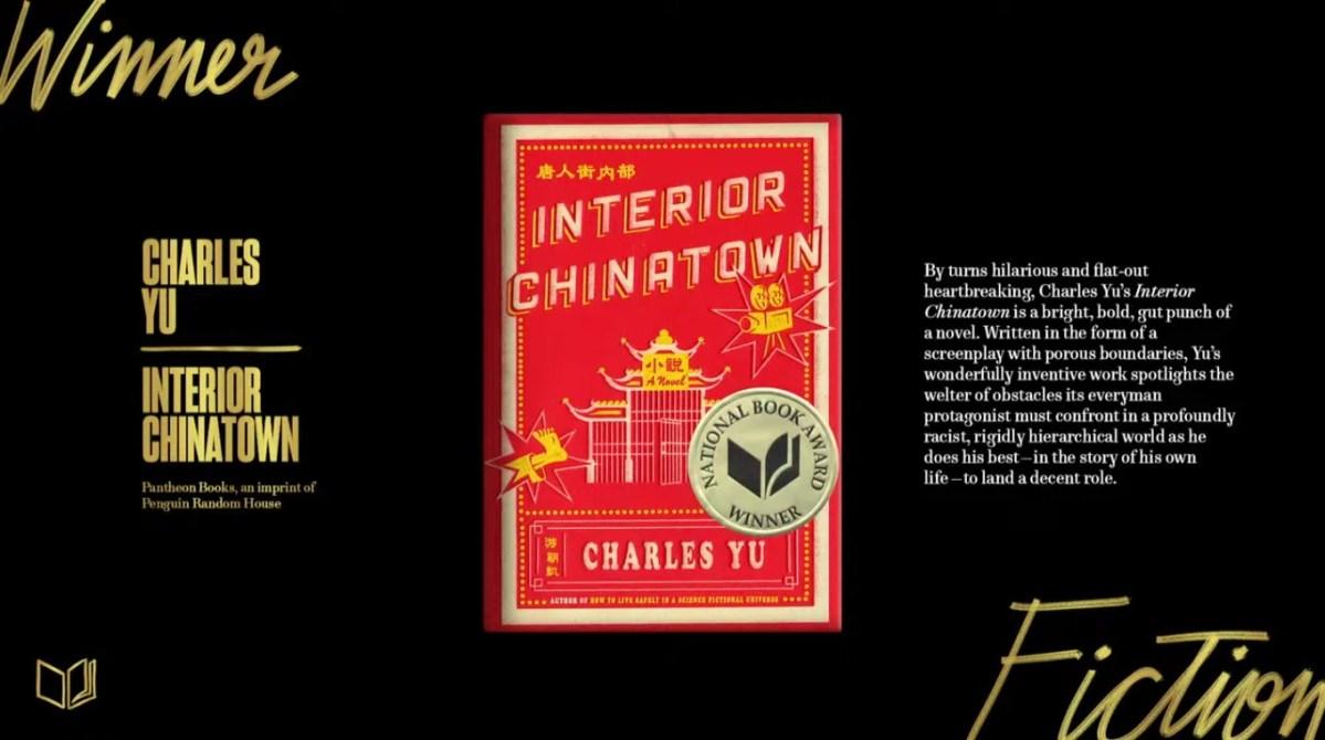 """""""Interior Chinatown"""" award"""
