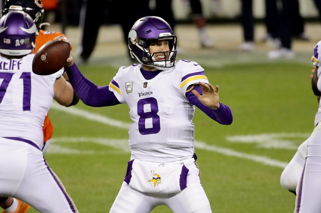 "QB Kirk Cousins Scores First ""Monday Night Football"" Win as Vikings Top Bears"