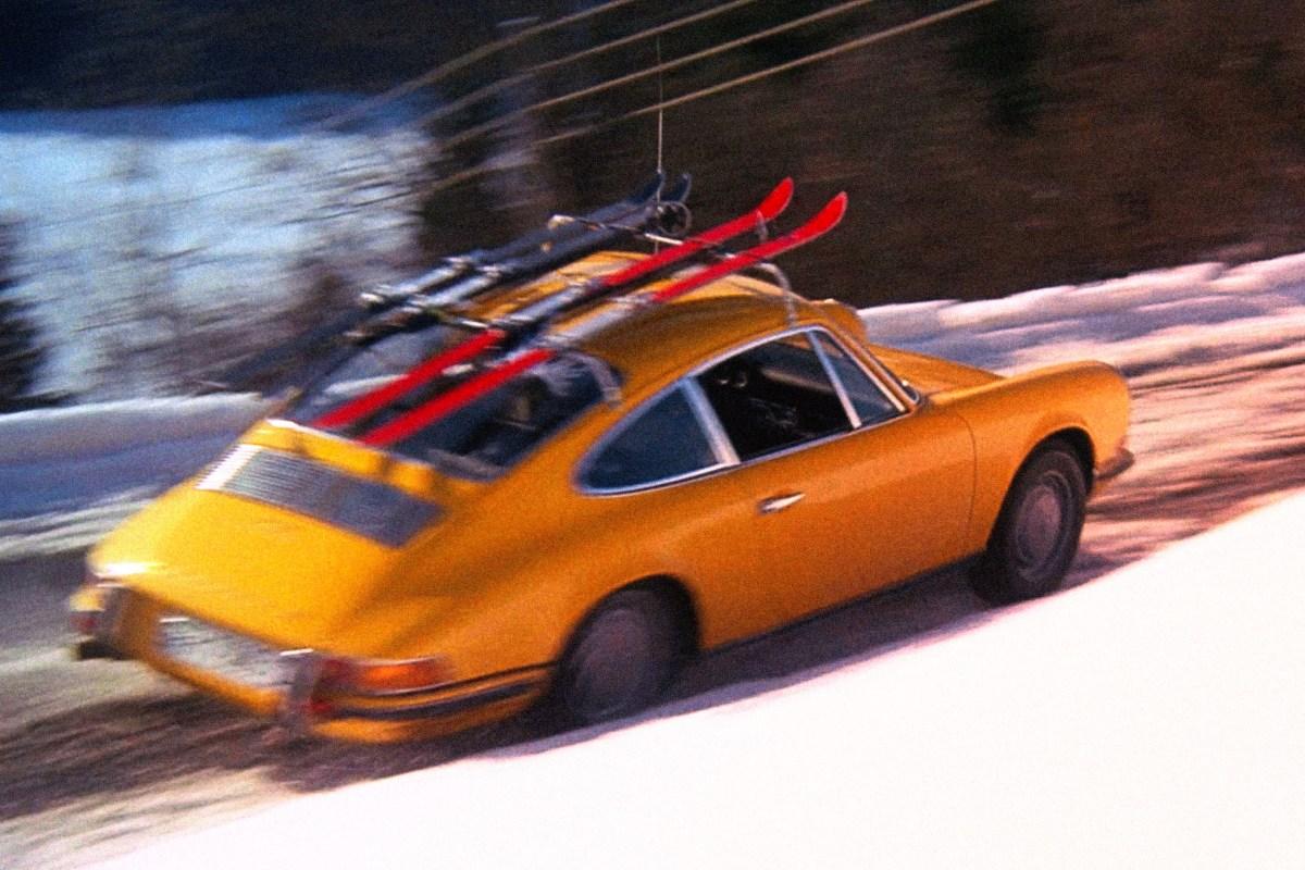 Downhill Racer Porsche 911 Robert Redford