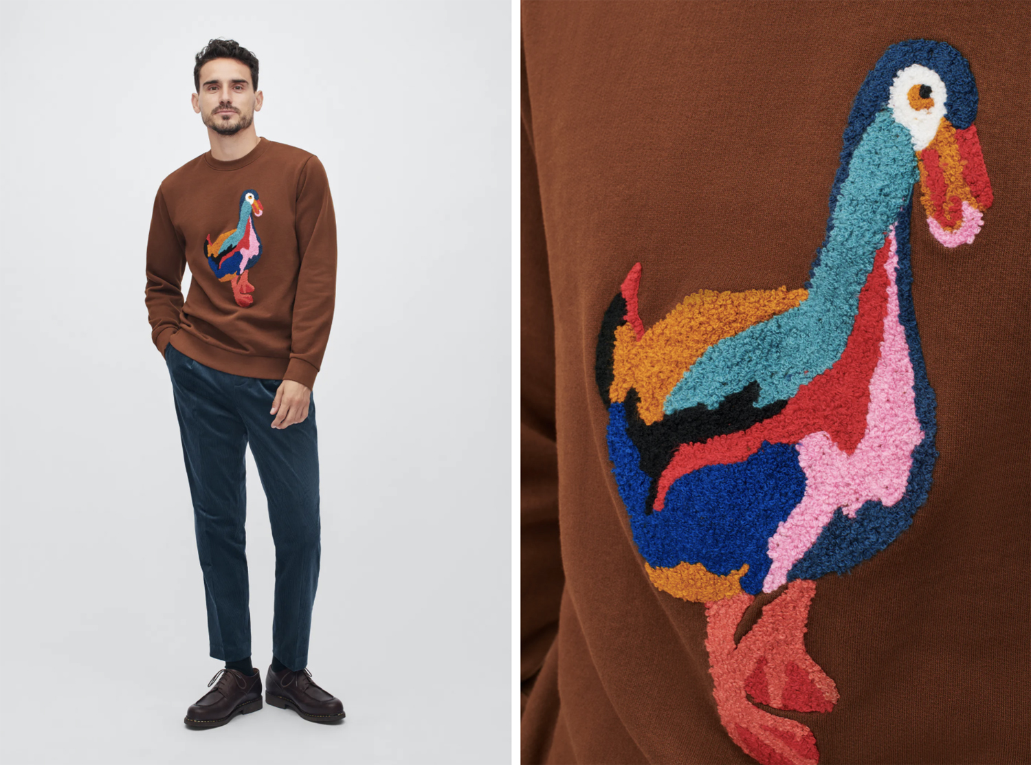 "bonobos Limited-Edition ""Brown Duck"" Sweatshirt"