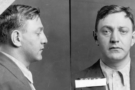 Dutch Schultz mugshot