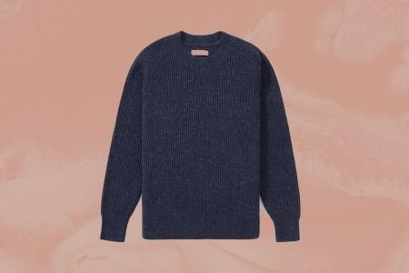 everlane tri-twist sweater