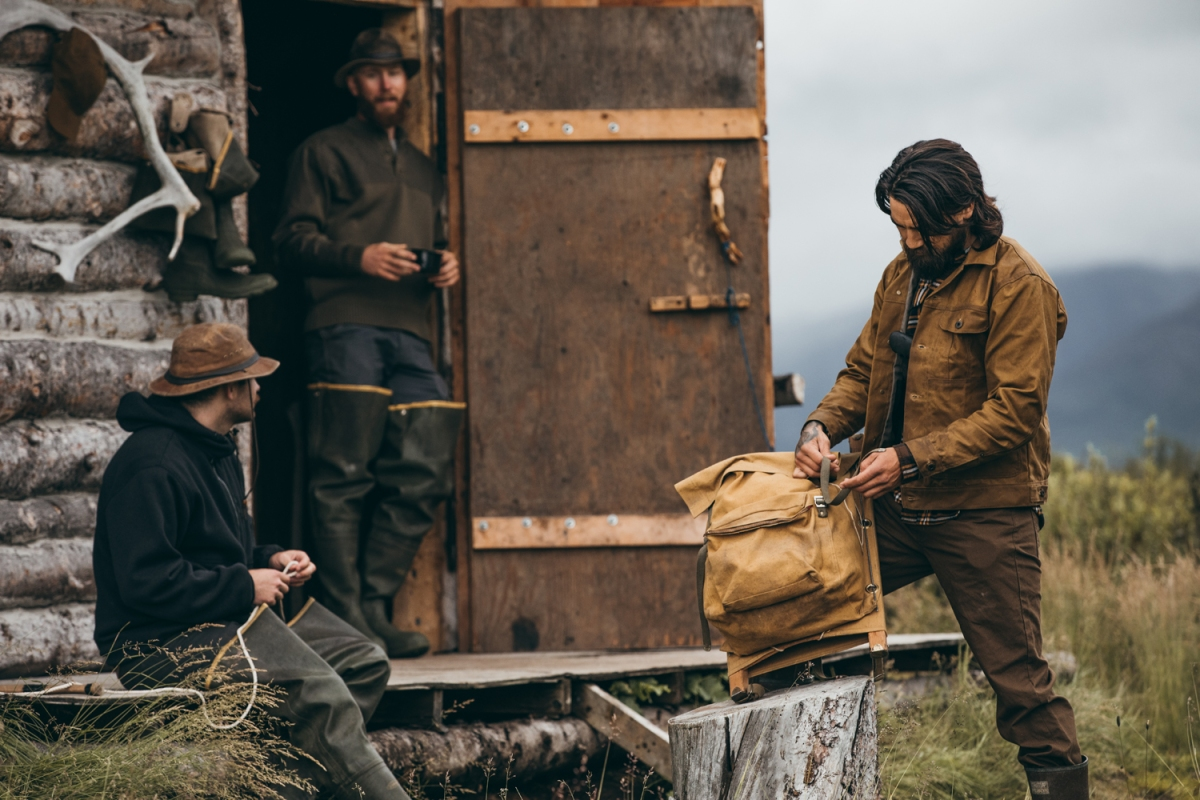 filson american heritage brand quality menswear made in the USA