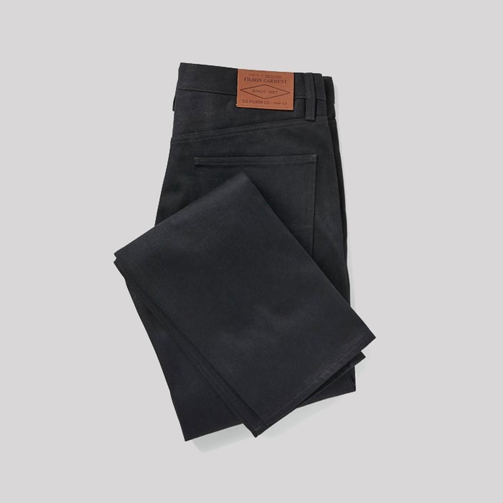 filson bullbuck double front jeans denim