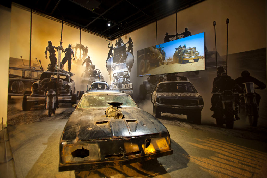 "The Petersen Automotive Museum Opens New Exhibit ""Hollywood Dream Machines: Vehicles Of Science Fiction And Fantasy"""