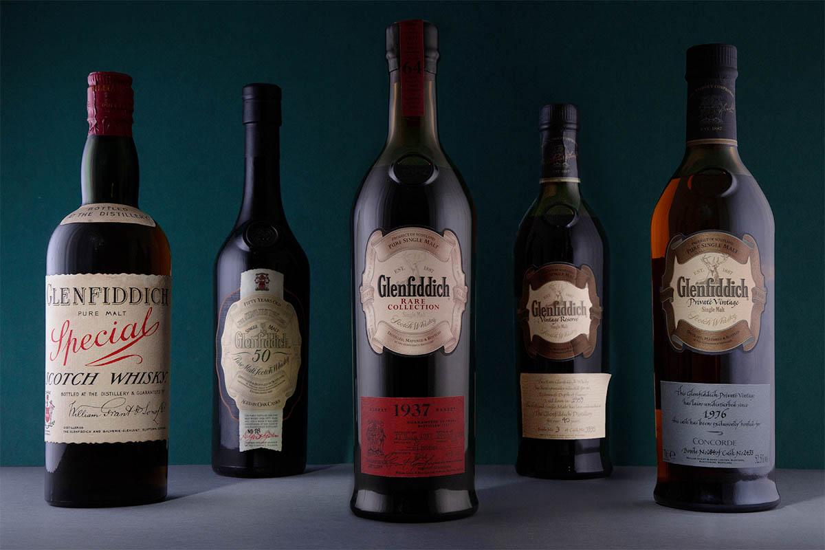 Glenfiddich rare whiskies