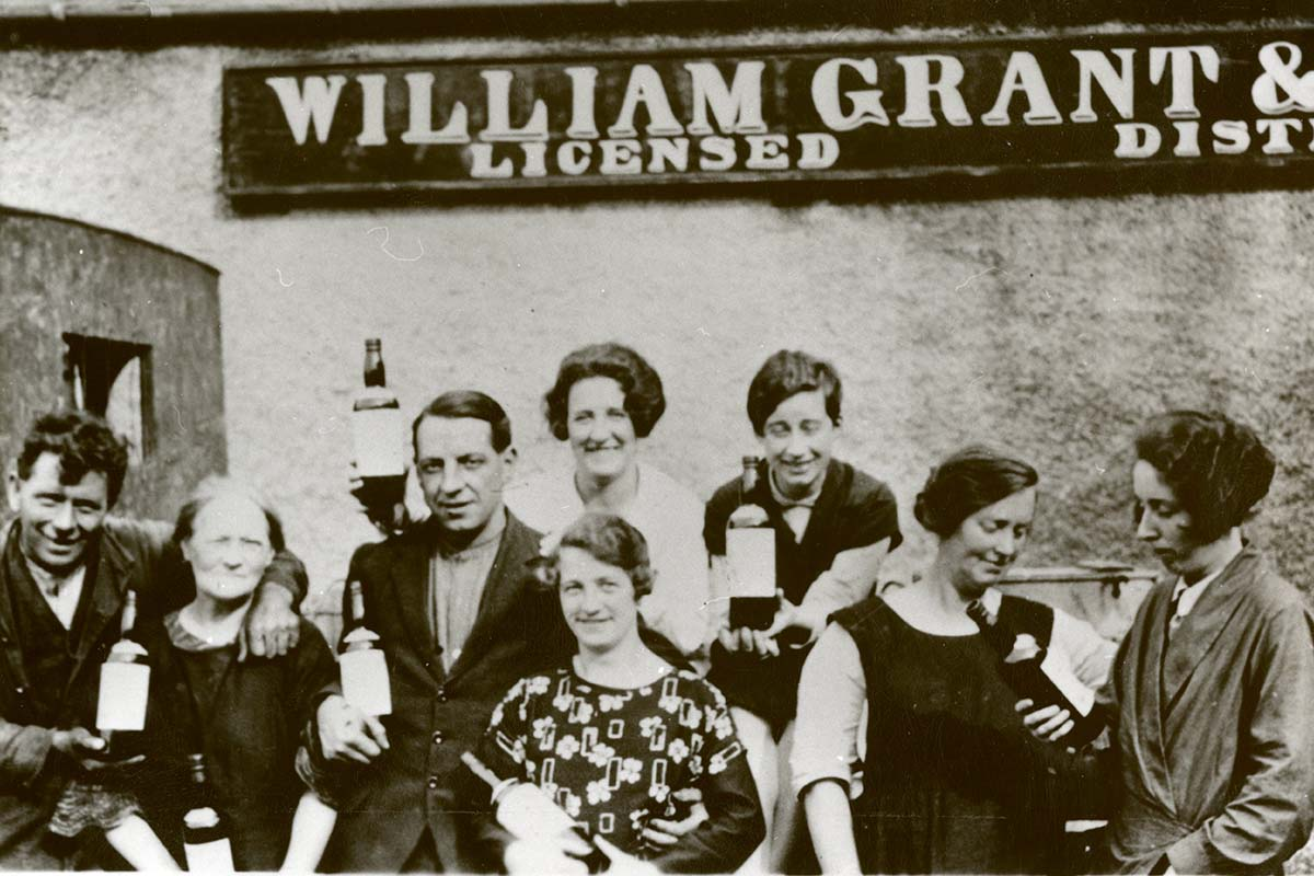 Glenfiddich distillery 1930s