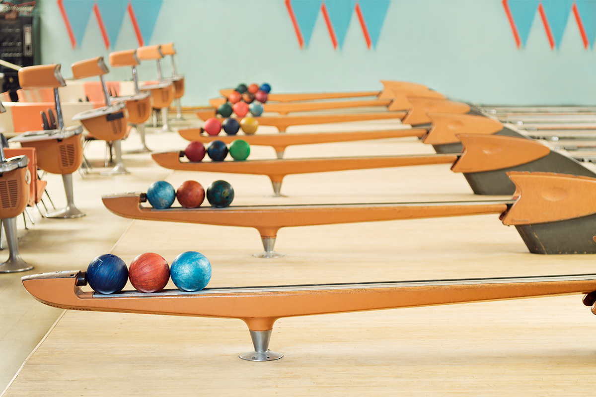 American bowling alley