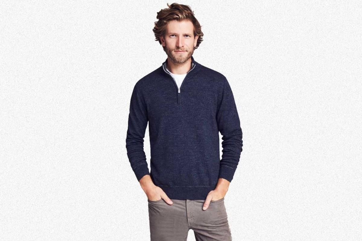 faherty men's sconset pullover
