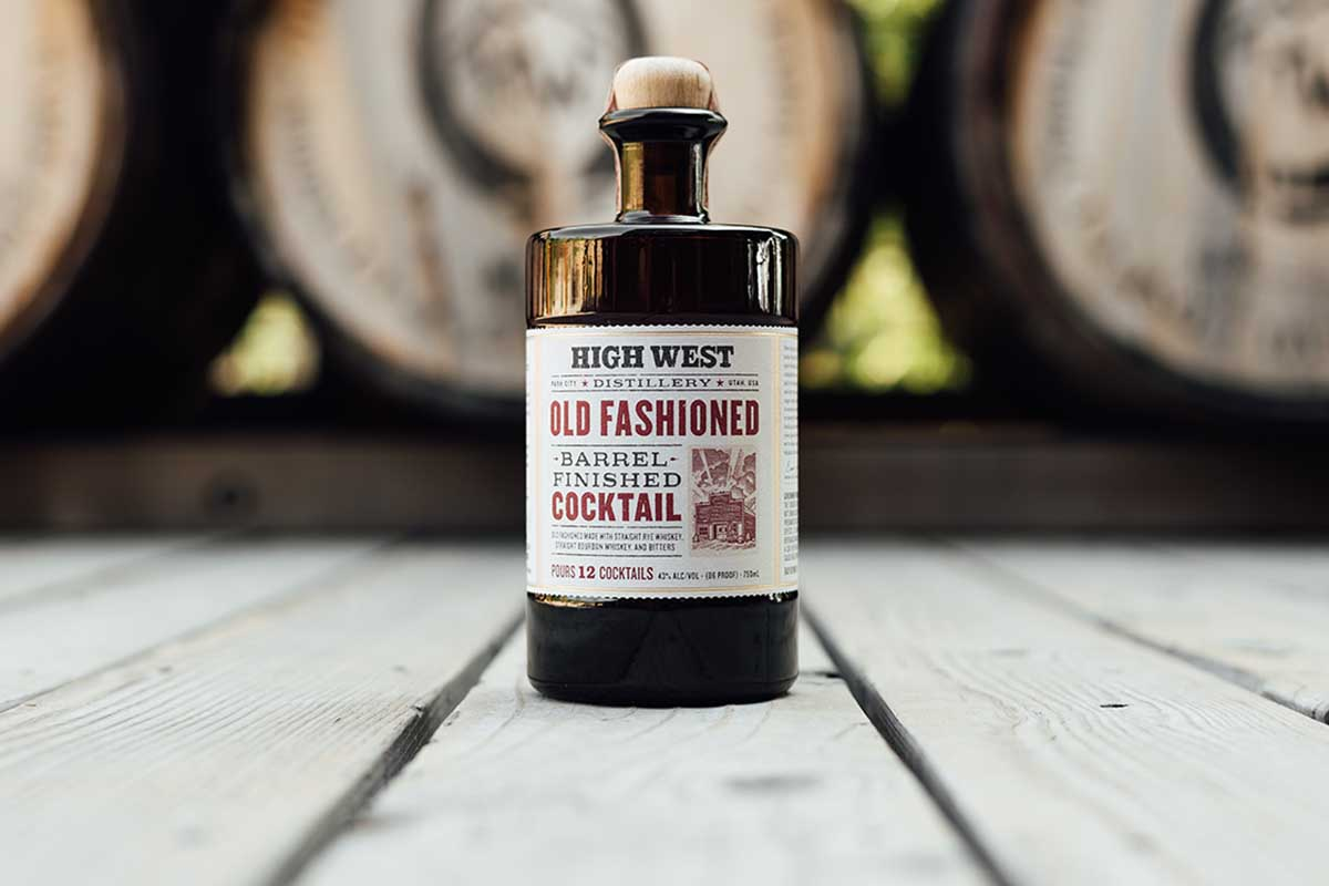 High West Barrelled Old Fashioned