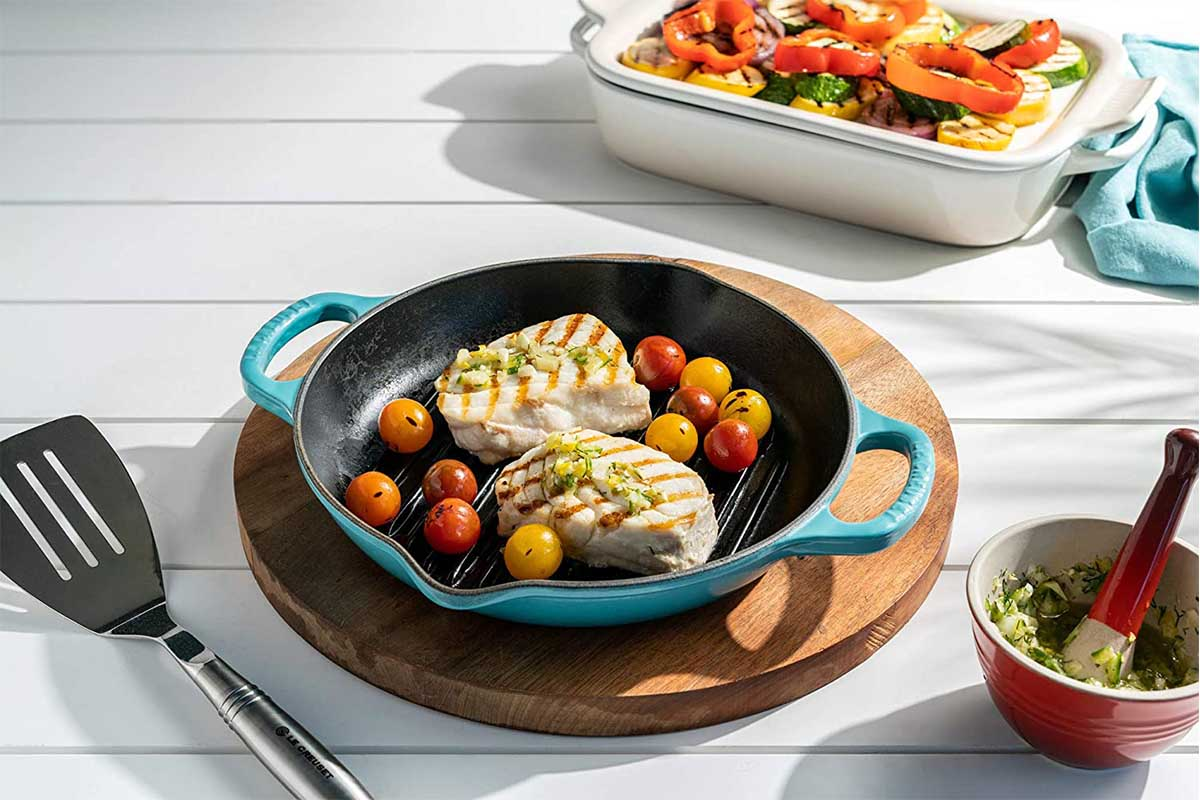 Le Creuset cookware is heavily discounted at Amazon