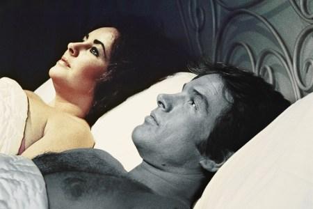warren beatty in bed with elizabeth taylor