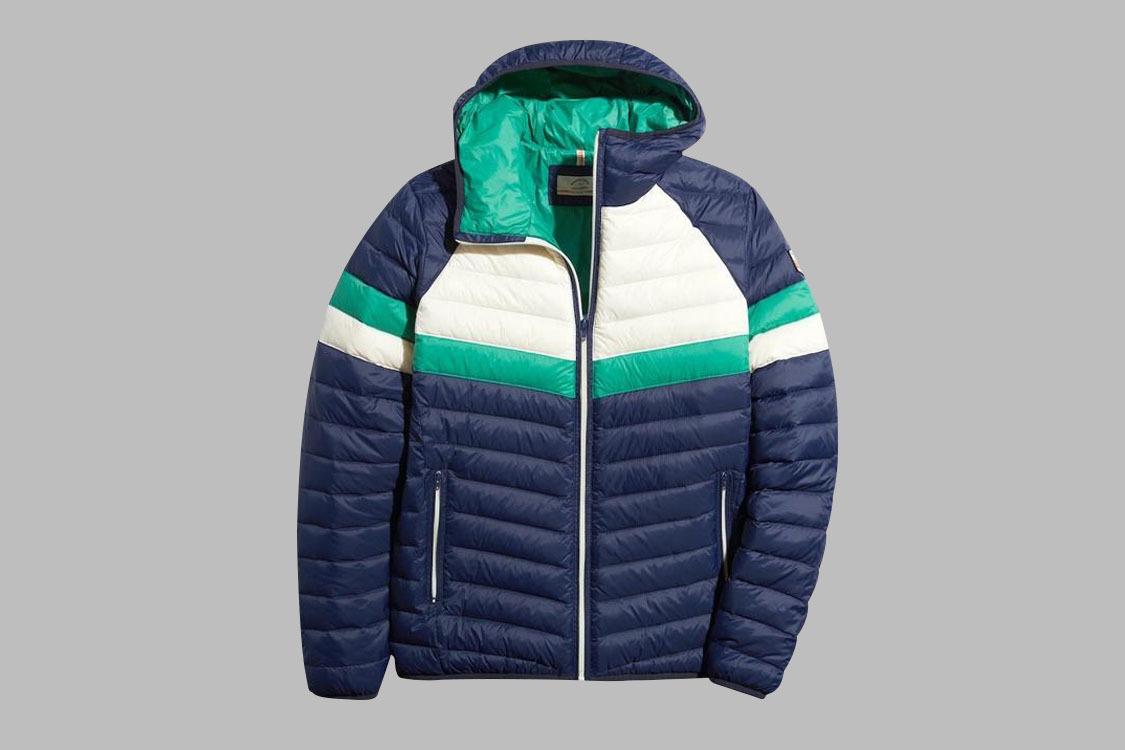 Marine Layer Lost and Found Brighton Puffer jacket