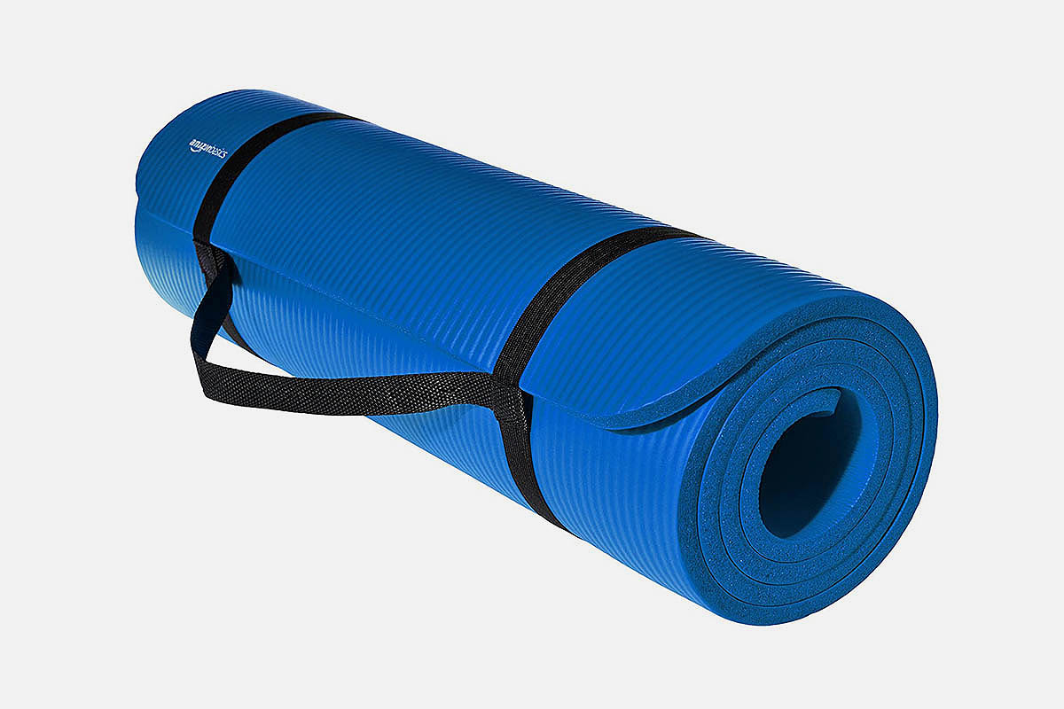 AmazonBasics Extra Thick Exercise Yoga Mat