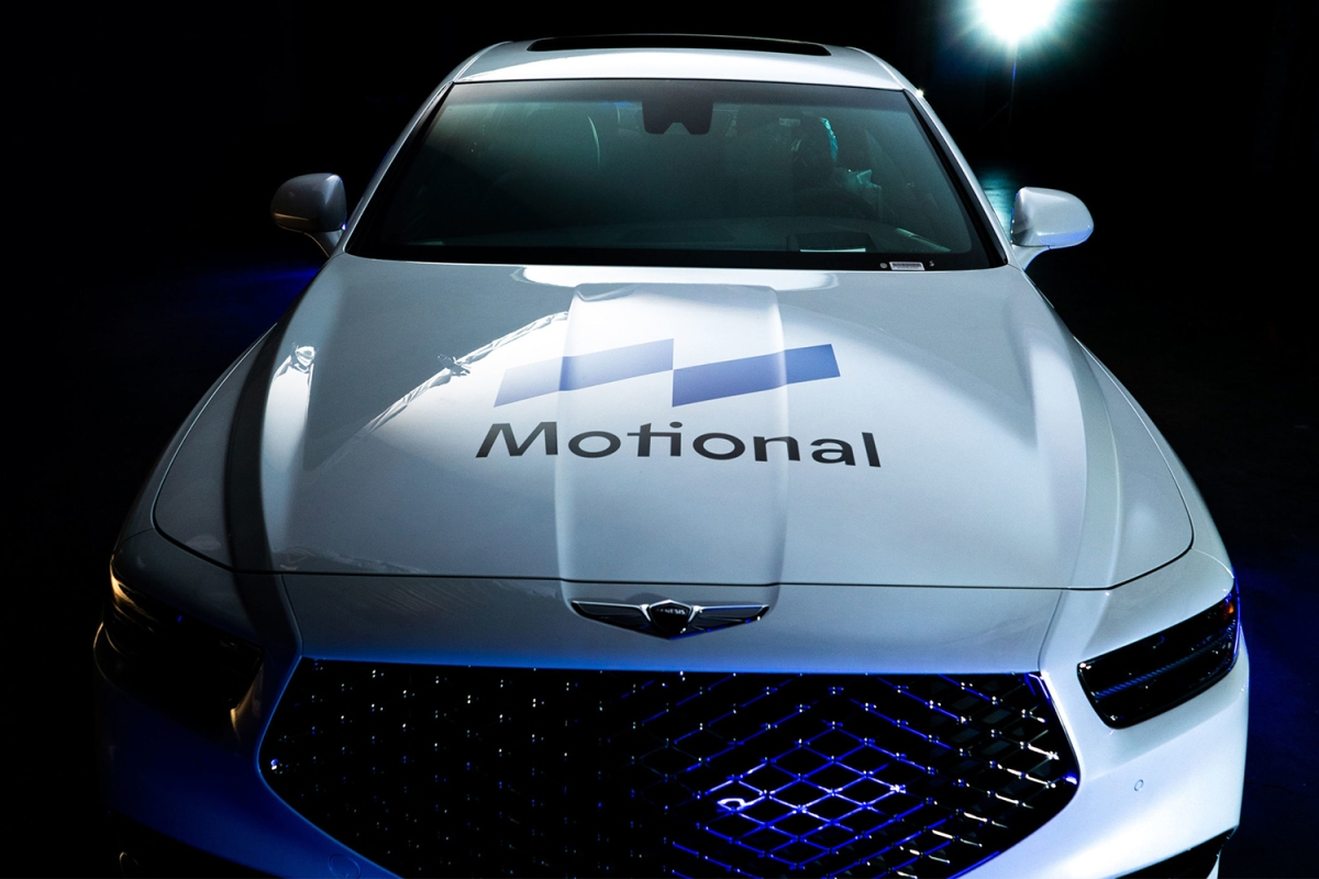 Motional self driving cars in Vegas