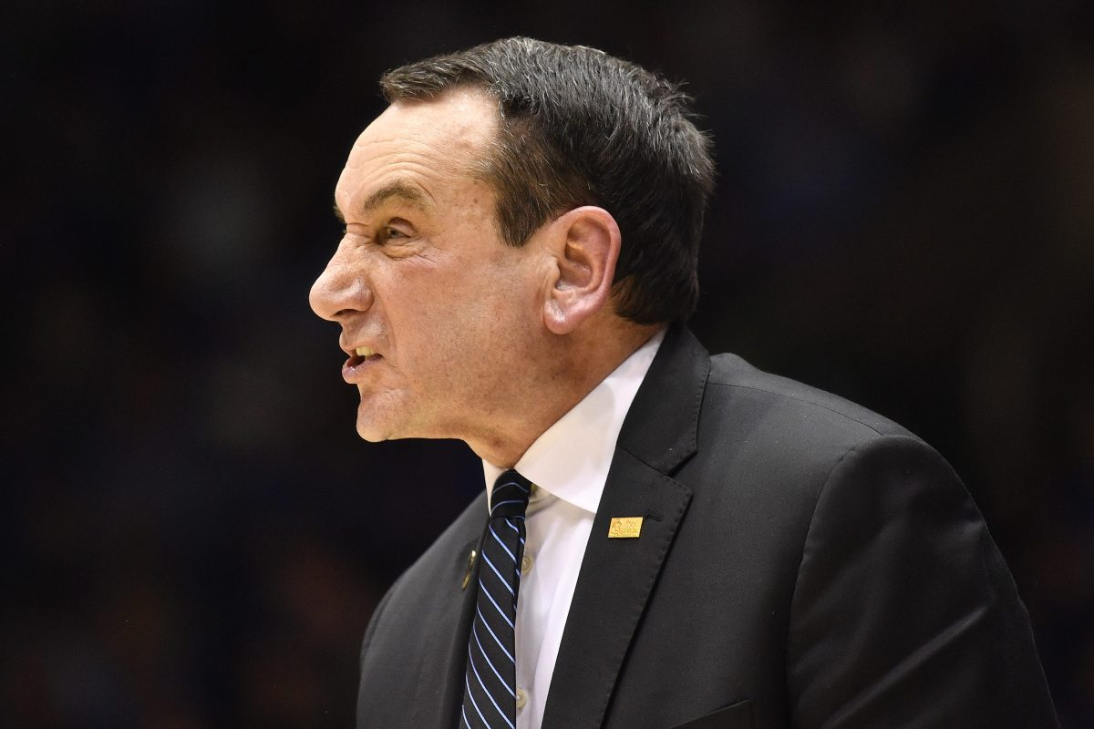 "Duke's Mike Krzyzewski Calls Holding NCAA Tourney in One City a ""Challenge"""