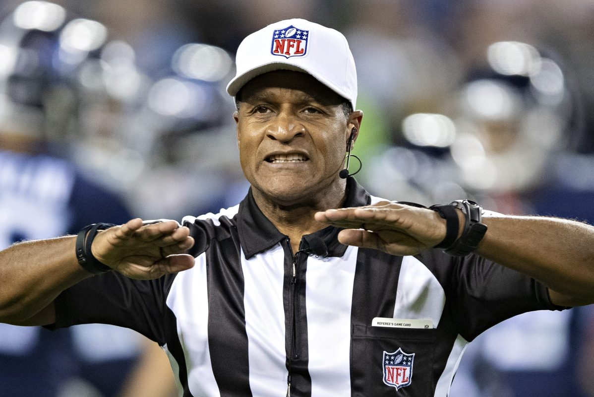 "NFL to Use All-Black Referee Crew for First Time in Week 11 on ""MNF"""