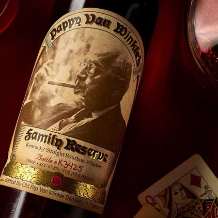 Win a bottle of Pappy 23-Year Old at Huckberry