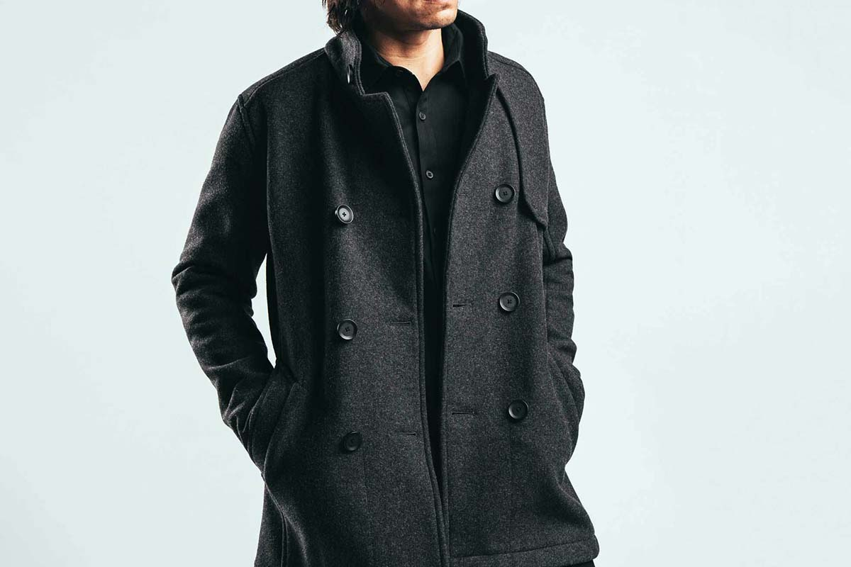 Mission Workshop The Bridgeman Pea Coat