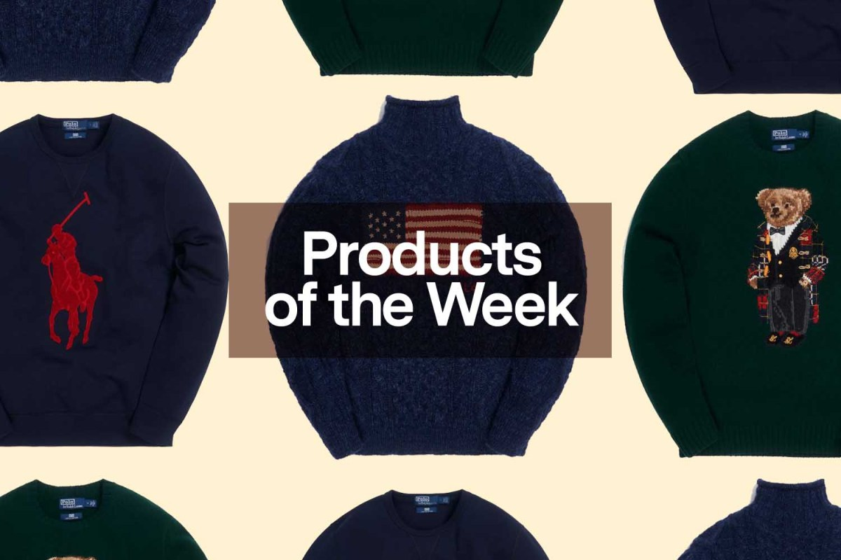 Products of the Week: Advent Calendars, Bar Carts and a KITH x Ralph Lauren Collaboration