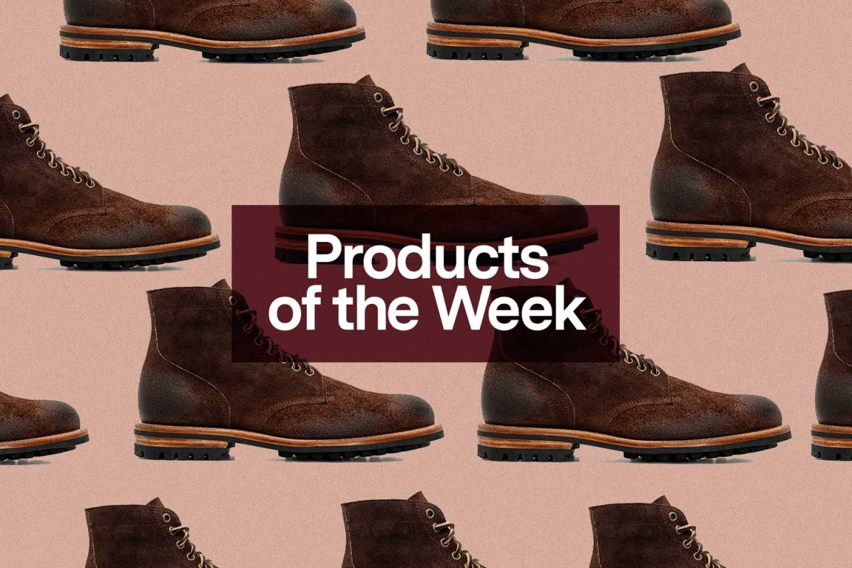 Products of the Week: Pendleton Blankets, Oak Street Boots and Gingerbread Spiced Stout