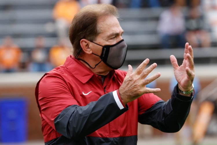 Alabama Comes in No. 1 in First College Football Playoff Rankings, Notre Dame No. 2