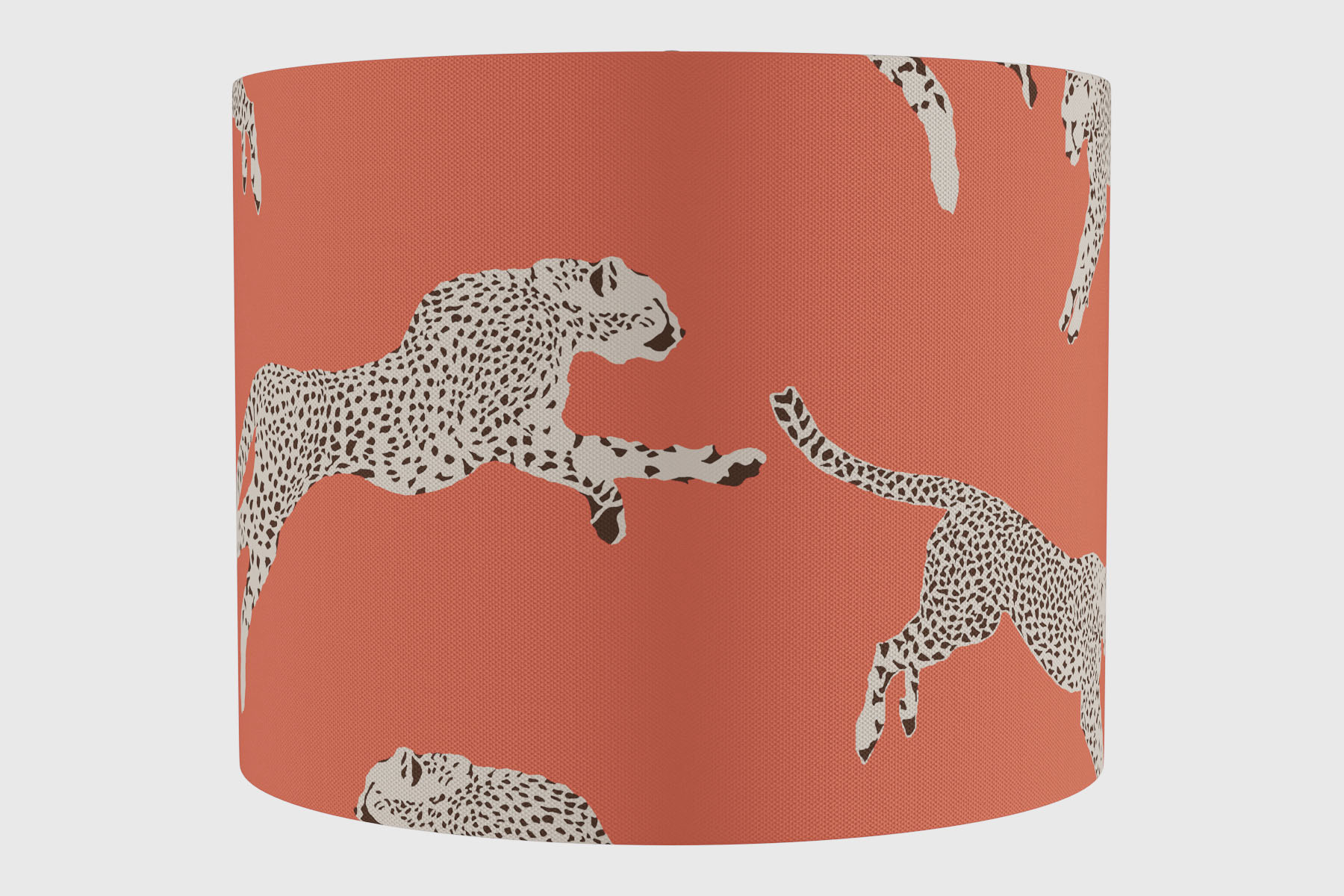 the inside cheetah lamp shade