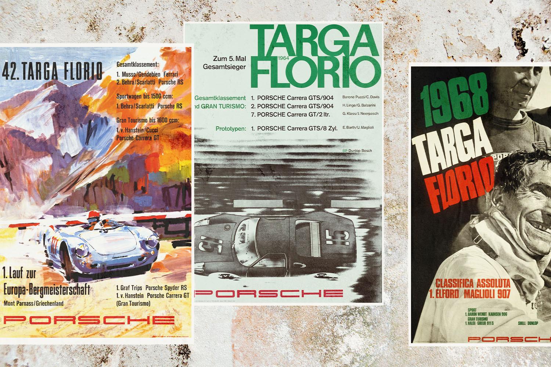 Targa Florio race posters