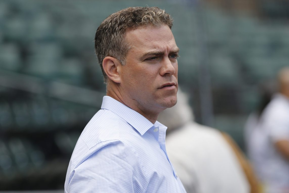 Theo Epstein Chicago Cubs