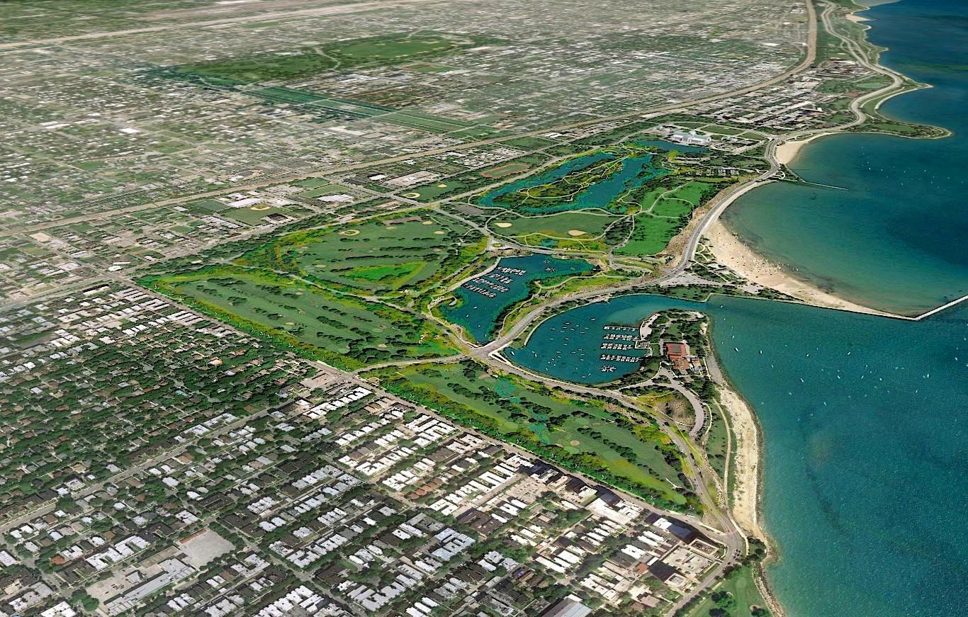 Three Chicago parks