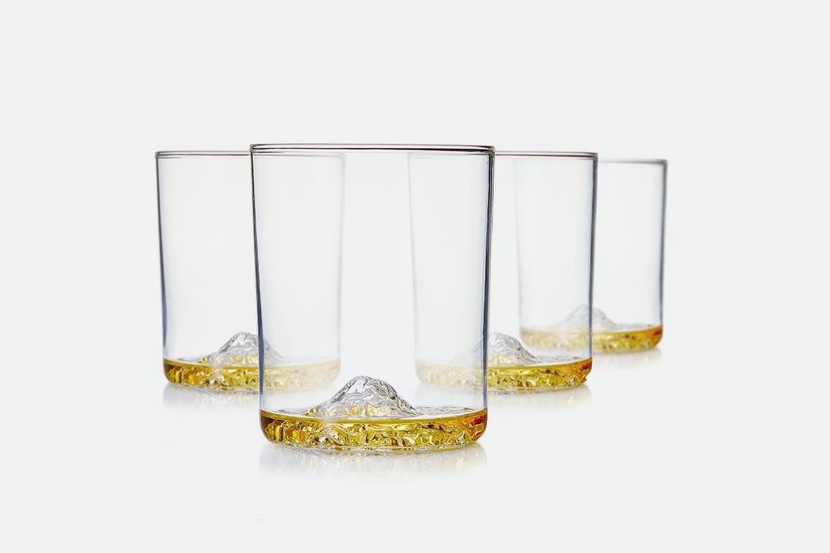 Whiskey Peaks Grand Tetons (Set of 4)