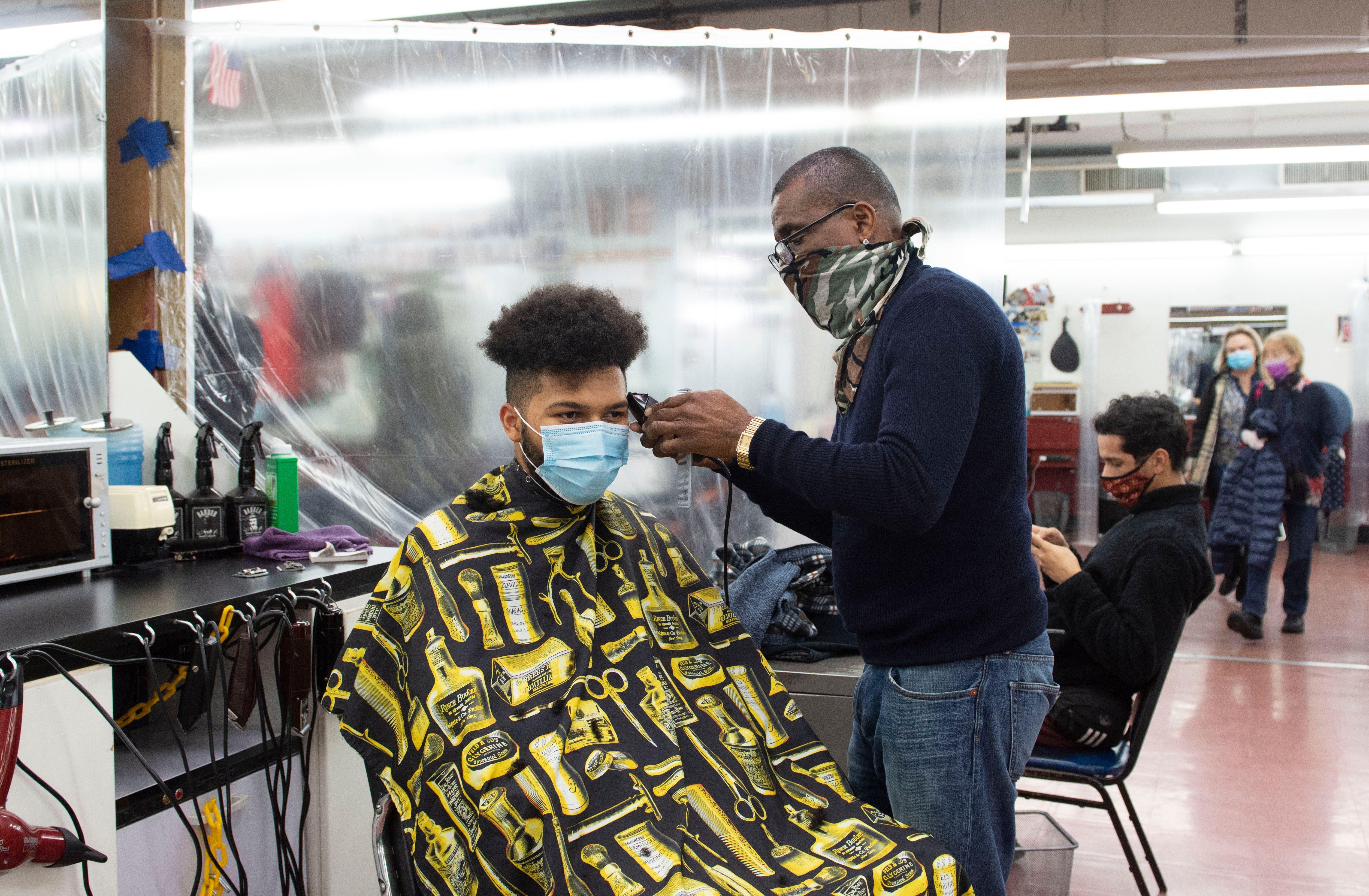 Haircut at Astor Hair