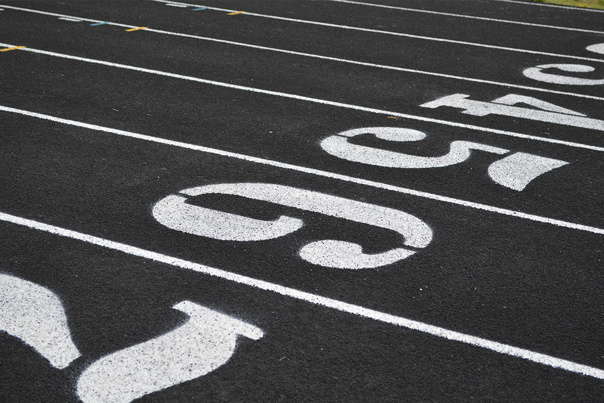 rules of running at track