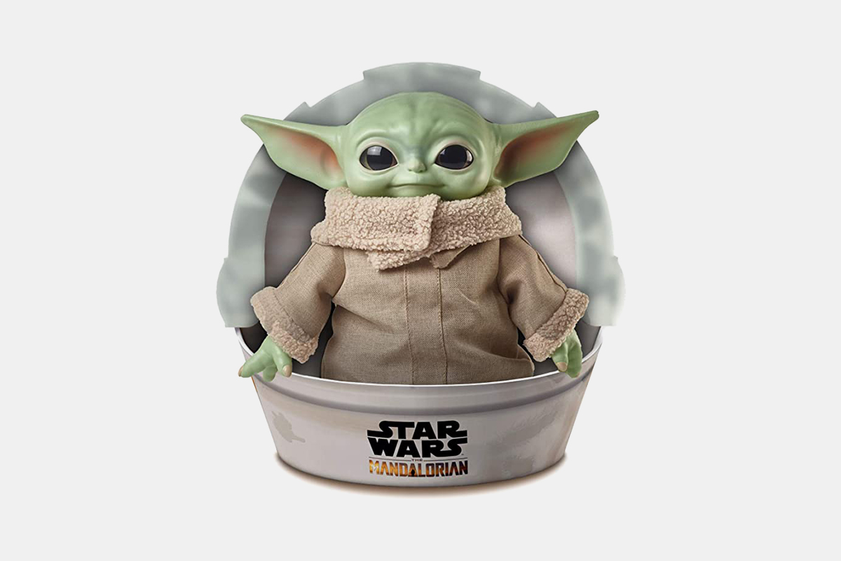mattel baby yoda toy