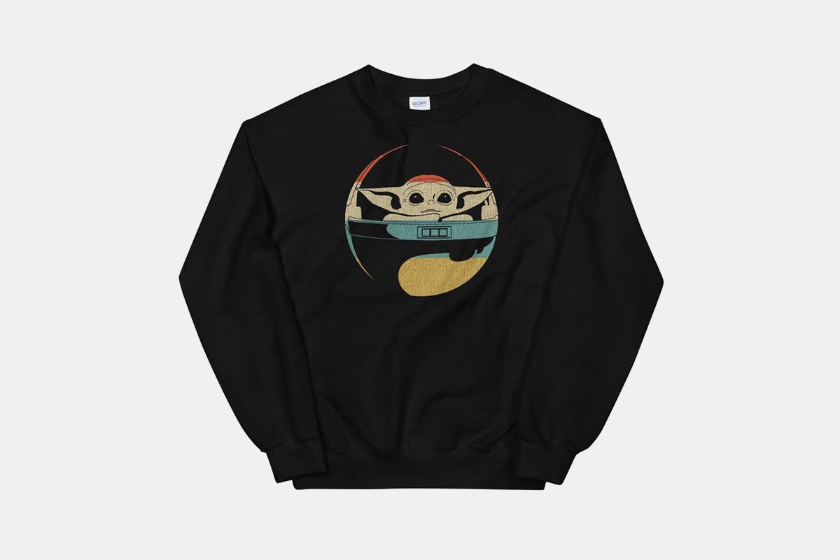 Etsy baby yoda sweatshirt