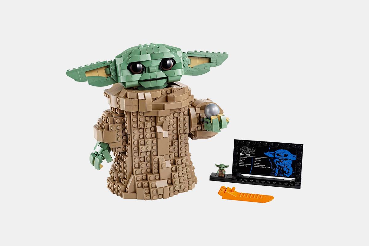 baby yoda legos
