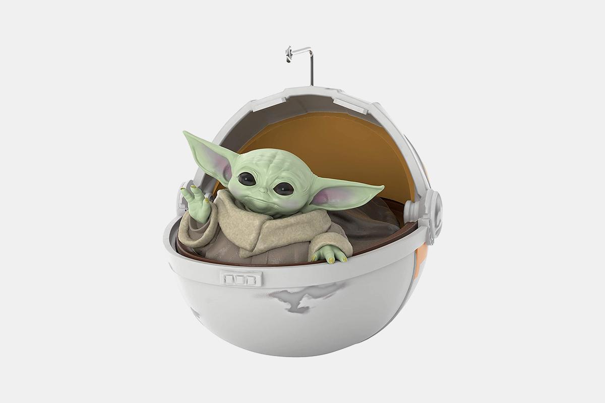 hallmark baby yoda ornament