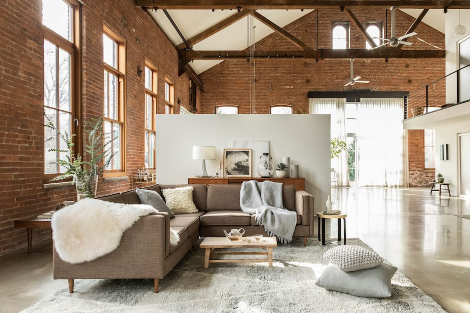 Design Loft Converted From 1860s Brick Factory