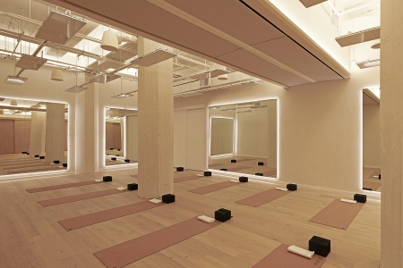 Fitness class space
