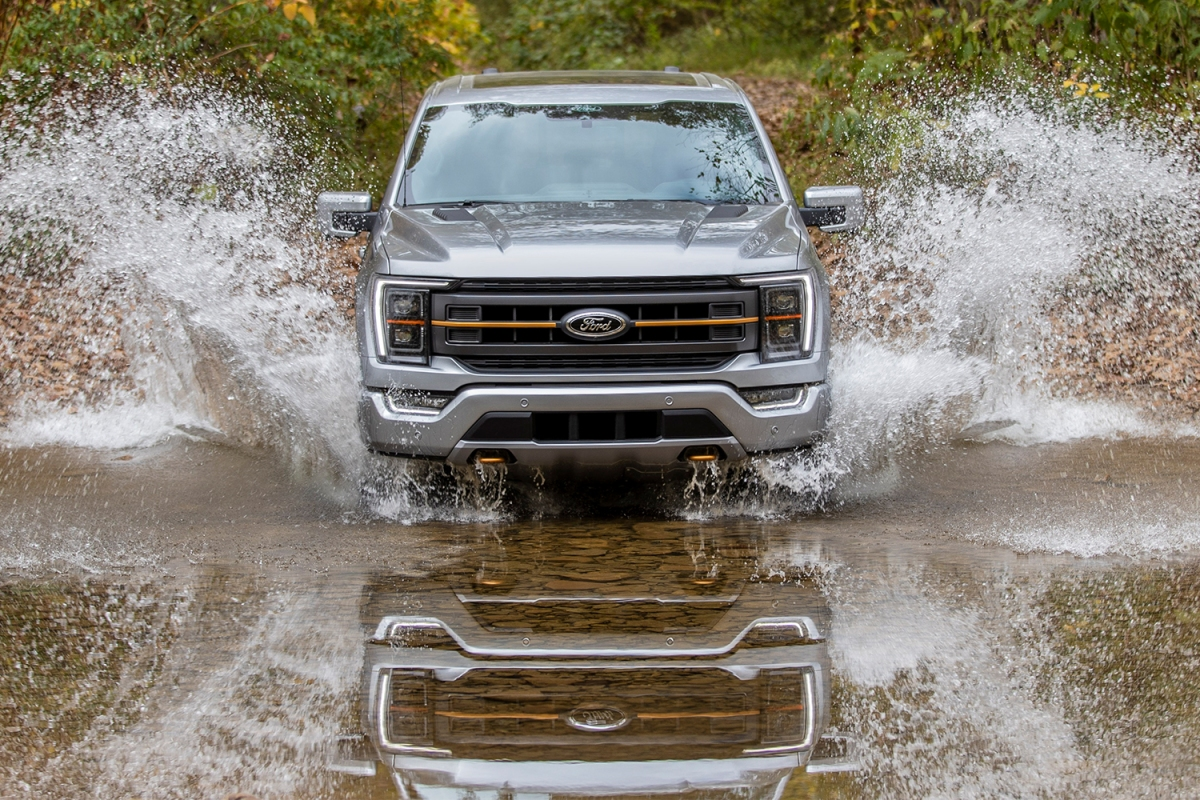 2021 Ford F-150 Tremor pickup truck