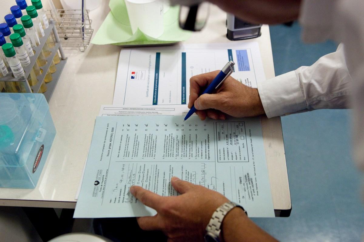 vaccine paperwork