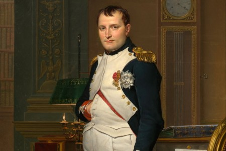 """The Emperor Napoleon in His Study at the Tuileries"""