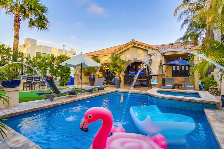 Private Resort Home San Diego California