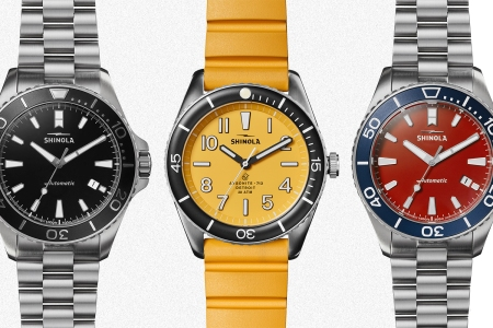 Shinola Monster and Duck watches