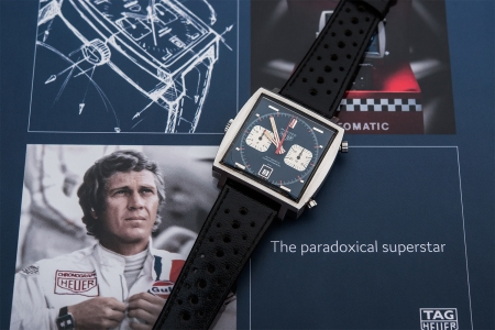 Steve McQueen Heuer Monaco watch auction